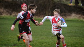 U12s make heavy weather of visit to Old Brods