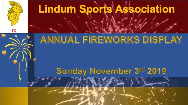 Annual Fireworks Display is back