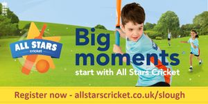 All Stars Cricket Session in Slough Cricket Club