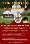 Inviting Junior Cricketers to Join Slough CC