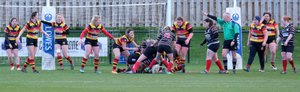 Harrogate defeat Darlington by 44 points to 5 in penultimate league game of the season