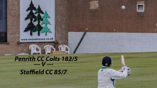 Penrith CC Colts v Staffield CC