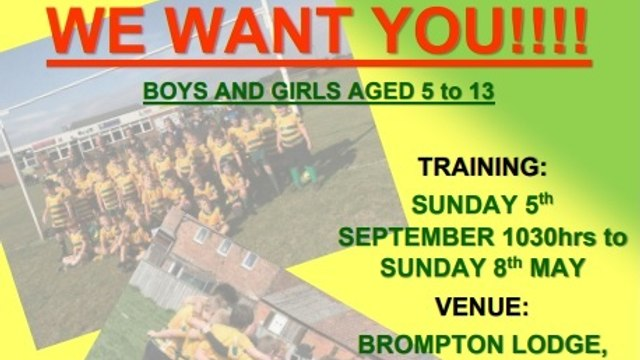 NRUFC- Junior Players Wanted!