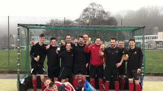 Men's 1st Team Promoted as Champions!