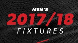 2017/2018 Men's Fixtures Released