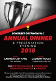 Annual Dinner and Presentation Evening 2018
