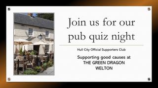 Pub Quiz Night - Monday 7th October, The Green Dragon Welton
