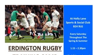 Erdington Rugby Your Local Friendly Club