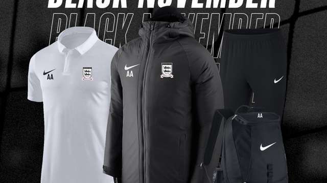 ⚫ Black November is live on the Kibworth Town FC Online Store!  ⚫