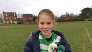 Player of The Match vs Biggleswade Jaguars Girls - 10.02.18