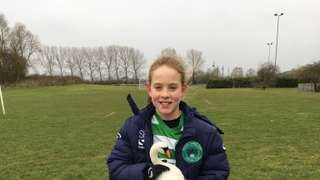 Player of The Match vs Stotfold Junior Girls - 17.03.18