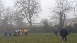 Away to Rugeley RFC U12s