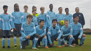 WINNERSH RANGERS TITANS vs WOODLEY UTD U16 HURRICANES