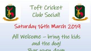 Toft Pre Season Social