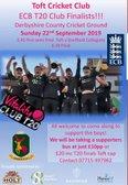 T20 Toft Cricket Club - Finals Day