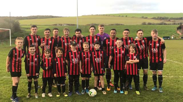 ONE CLUB - Youth Team Mascots cheer on the First XI