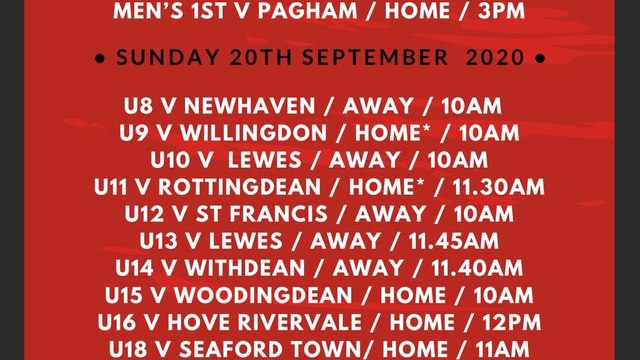 Preview -  A look ahead to this weekend's fixtures