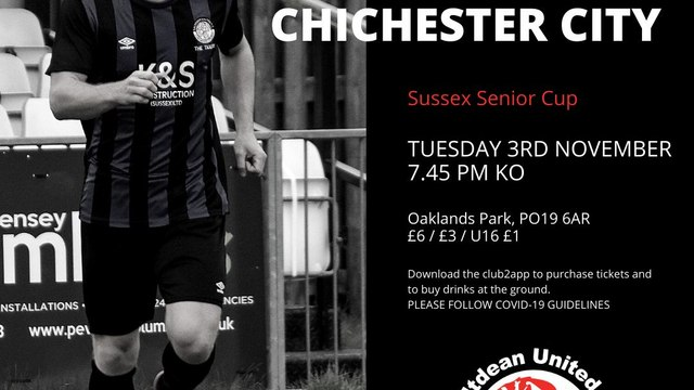 Senior Cup - Chichester v SALTDEAN UNITED
