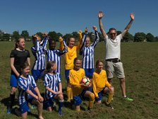U13 Girls: Thanks to all for Saturday's successful 'Fun on the Stray' event