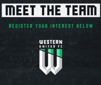 MON 8 JULY 6:30pm - MEET WESTERN UNITED
