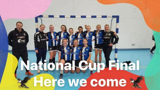 Eagles women team reach the England Handball National Cup final