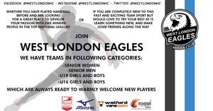 West London Eagles are looking for new players!