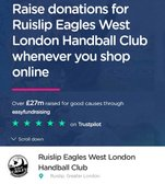 Fundraising for West London Eagles