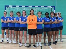 The young U16 girls team continues winning