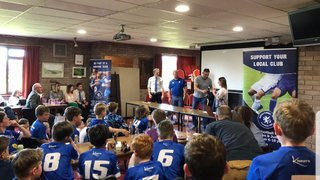 Winscombe Warriors U11's Presentation