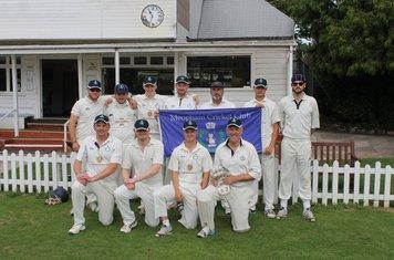 The victorious team v Paignton