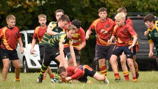 Old Salts Under 14's V's Hereford under 14's (score 24-22) Away