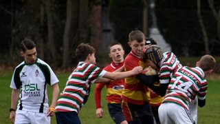 Old Salts Under 14's V's Aston Eds - plate match