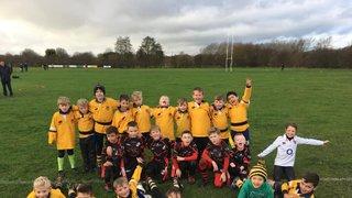 Burnham U8's win in tight game with local rivals
