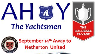 Netherton United Coach 14th September with pick up times