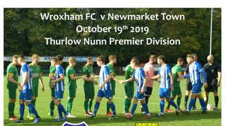 2019 WFC v Newmarket Town  Draw 0 - 0