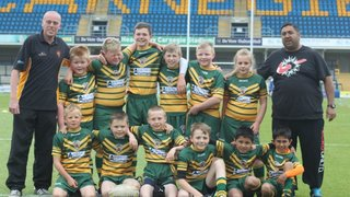 U10s  at Leeds Childrens Day June 9th 2013