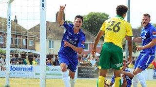 Lowestoft Town 1-5 Norwich City