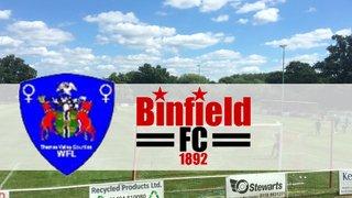 New Binfield Ladies teams voted in to Leagues