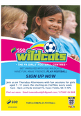 SSE Wildcats Starting This Week