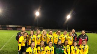 Tameside United 18s County Cup winners