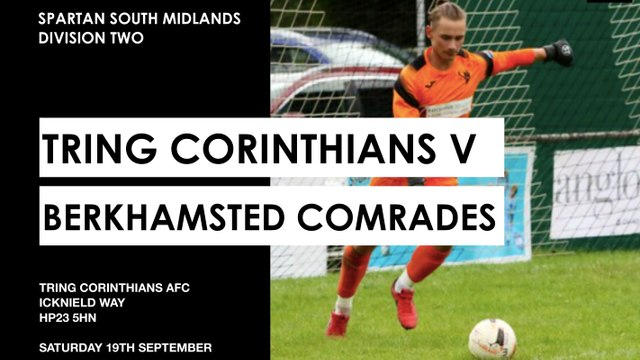 Berkhamsted Comrades Match-day Programme - A word from the Manager