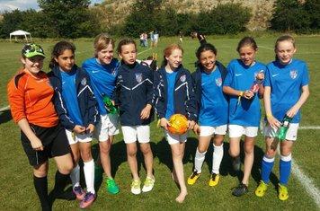 U12 Girls at Cup Denmark