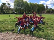 KEW GIRLS U12 STRIKE TO WIN GOLDSWORTH CUP