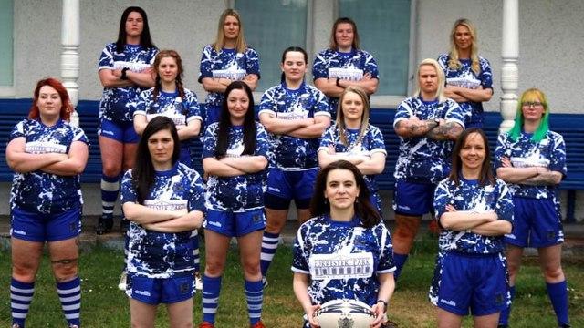 Dunfermline Women play in their first league fixture
