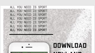 MATCH SPONSOR: We Love Sport