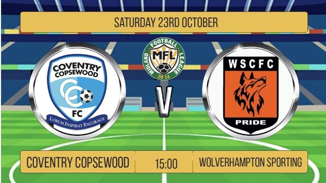 Coventry Copsewood v Wolverhampton Sporting