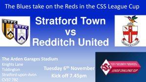 MATCH NIGHT we host Redditch United this evening Tuesday 6th November KO 7.45pm