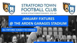 Fixtures January 2019