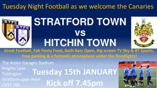 Hitchin Home Fixture 15-01-19