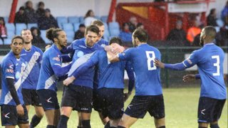 A Lewis Wilson strike seals the win & seasonal double over Redditch